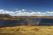 Veduta del paesaggio tra Arequipa e il Lago Titicaca di giorno, Bolivia — Foto stock