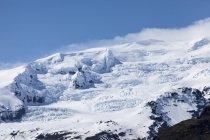 Island, Vatnajökull, Vatnajökull-Nationalpark, verschneites Gebirge — Stockfoto