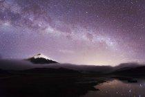 Мальовничий вид на саміті Котопахі вулкана на Котопахі Національний парк Пічінча, Еквадор — стокове фото