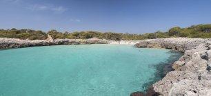 Spagna, Isole Baleari, Minorca, Spiaggia di Talaier — Foto stock