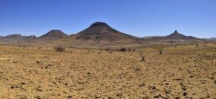 Afrika, Namibia, Kunene Provinz, Kaokoland, Namib-Wüste, Toennesenberge — Stockfoto