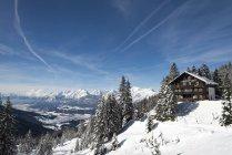 Autriche, Tyrol, Schwaz, vue de Loassattel à la vallée de l'Inn — Photo de stock