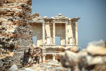 Turquia, Éfeso, biblioteca de Celsus — Fotografia de Stock