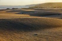 Portugal, Carrapateira, Bordeira praia na maré baixa — Fotografia de Stock