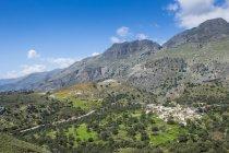 Greece, Crete, mountain village Kato Rodakino — Stock Photo