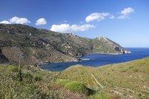 Греция, Порто-Кагио, прибрежный ландшафт — стоковое фото