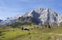 Австрия, земля Мюльбах, гора Кениг, каюта Феттеля — стоковое фото