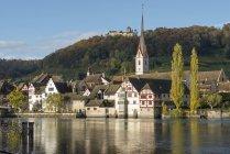 Швейцария, Штайн-ам-на-Рейне — стоковое фото