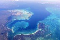 Aerial view of Florida Keys at daytime, Florida, USA — Stock Photo