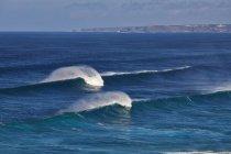 Wellen auf dem Atlantik — Stockfoto