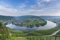 Germania, Renania-Palatinato, Mosella ciclo Kroev durante il giorno — Foto stock