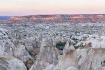 Turchia, Cappadocia, Goereme, tufo durante il giorno — Foto stock