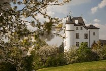Germany, Saarland, Perl, Berg Castle during daytime — Stock Photo