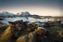 Paysage d'Islande, Sudurland, au coucher du soleil — Photo de stock