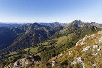 Germania, Baviera, Mangfall Mountains — Foto stock