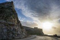 Греція, Крит, Ретімно, The Fortezza та подання Ах підсапують проти води — стокове фото