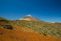 Испания, Канарские острова, Тенерифе, Национальный парк Тейде, вулкан Тейде — стоковое фото