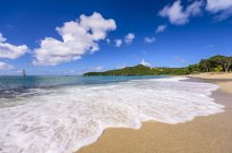 Caribbean, Antilles, Lesser Antilles, Grenadines, Union Island, Sailing ship — Stock Photo