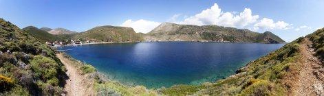 Paisaje costero de Grecia, Porto Kagio, - foto de stock