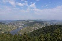 Alemanha, Renânia-Palatinado, Mehring, cinco lagos vista durante o dia — Fotografia de Stock