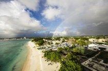 Vista panoramica della spiaggia vicino a Garrison durante il giorno, Barbados, Piccole Antille, Antille, Caraibi — Foto stock