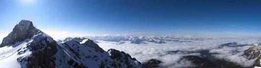 Austria, Styria, Alps, Dachstein Mountains — стоковое фото