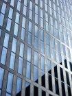 View of facade of modern office tower at daytime, Zurich, Switzerland — Stock Photo