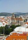 Словаччина, Кошице, міський пейзаж з собор Святого Альжбети — стокове фото