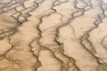 USA, Wyoming, Yellowstone National Park, Grand Prismatic Spring, water with pattern — Stock Photo