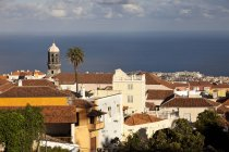 Іспанія, Канарські острови, Тенеріфе, ла Оротава, переглянути над старою частиною міста, денний час — стокове фото