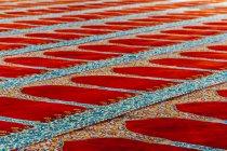 Turquía, Estambul, alfombra en una mezquita en el suelo - foto de stock