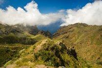 Spain, Canary Islands, Tenerife, Teno Mountains — Stock Photo