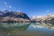 Canada, Alberta, Banff National Park, Lago Bow — Foto stock