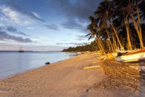 Indonesia, Lombok, Beach in the morning light — Stock Photo