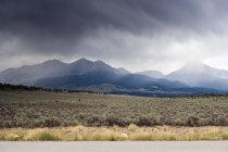 USA, Colorado, Landscape and clouds during daytime — Stock Photo