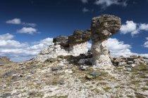 США, штат Колорадо, Скелясті гори національного парку, Кам'яна формація денний час — стокове фото