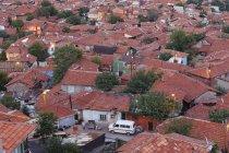 Туреччини, Анкара, вид на місто, Gecekondu житловий — стокове фото
