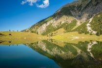 Германия, Бавария, Альгеу, Альгеу Альпы, Осер Гайзензее — стоковое фото