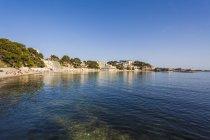France, Provence-Alpes-Cote d'Azur, Department Var, Bandol, Beach — стокове фото