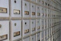 Boîtes postales sur les îles Caïmans, à l'intérieur — Photo de stock