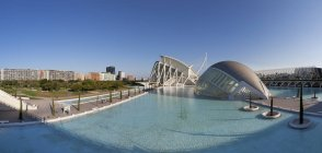 Spain, Valencia, City of Arts and Sciences  during daytime — Stock Photo