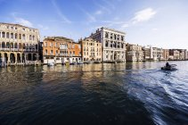 Italy, Veneto, Venice, San Polo, Canal — Stock Photo