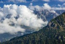 Германия, Бавария, Альгау, гребень горы Альпы Альгау, видно из Fellhorn — стоковое фото