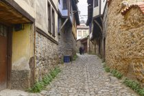 La Turquie, région de Marmara, allée dans le village de Cumalikizik — Photo de stock