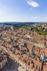 Switzerland, Bern, old town, cityscape from minster — Stock Photo