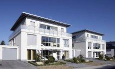 Німеччині, Північний Рейн-Вестфалія, кияни, нещодавно побудований квартири — стокове фото