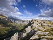 Испания, Арагон, Ордеса и Монте Пердидо Национальный парк — стоковое фото