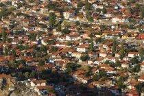 Turkey, Ankara, View of the city, Gecekondu dwelling — Stock Photo