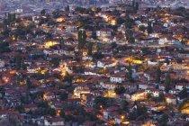 Turquia, Ancara, vista da cidade, habitação Gecekondu — Fotografia de Stock