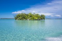 Micronesia, Palau, small island in the ocean during daytime — Stock Photo